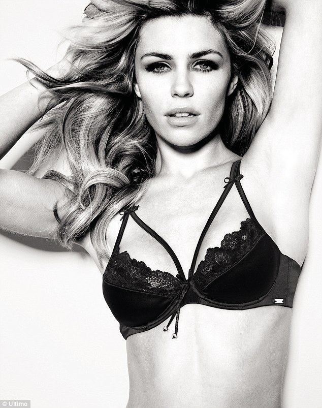 Abbey Clancy for Ultimo - Image via dailymail.co.uk