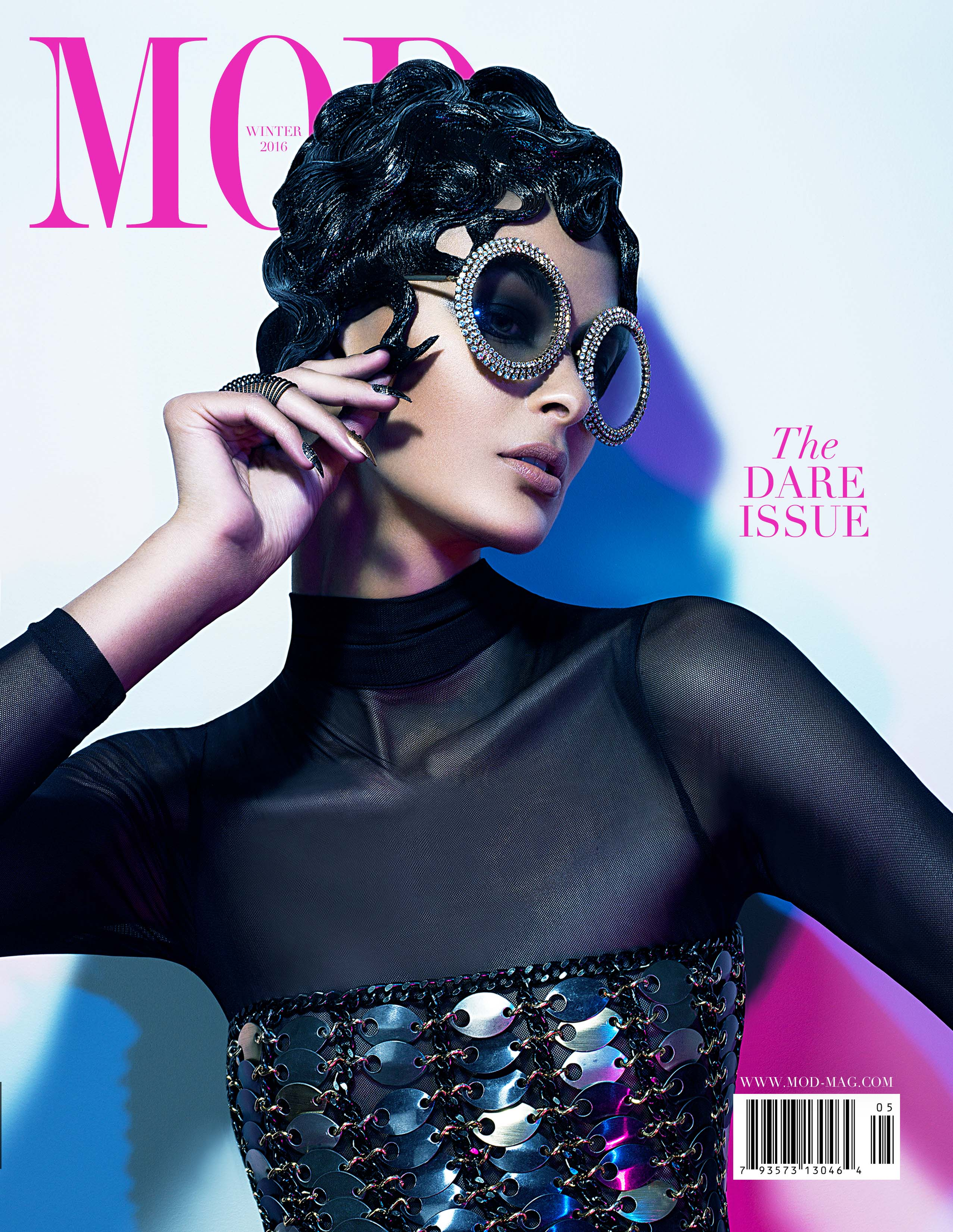 mod magazine cover the dare issue