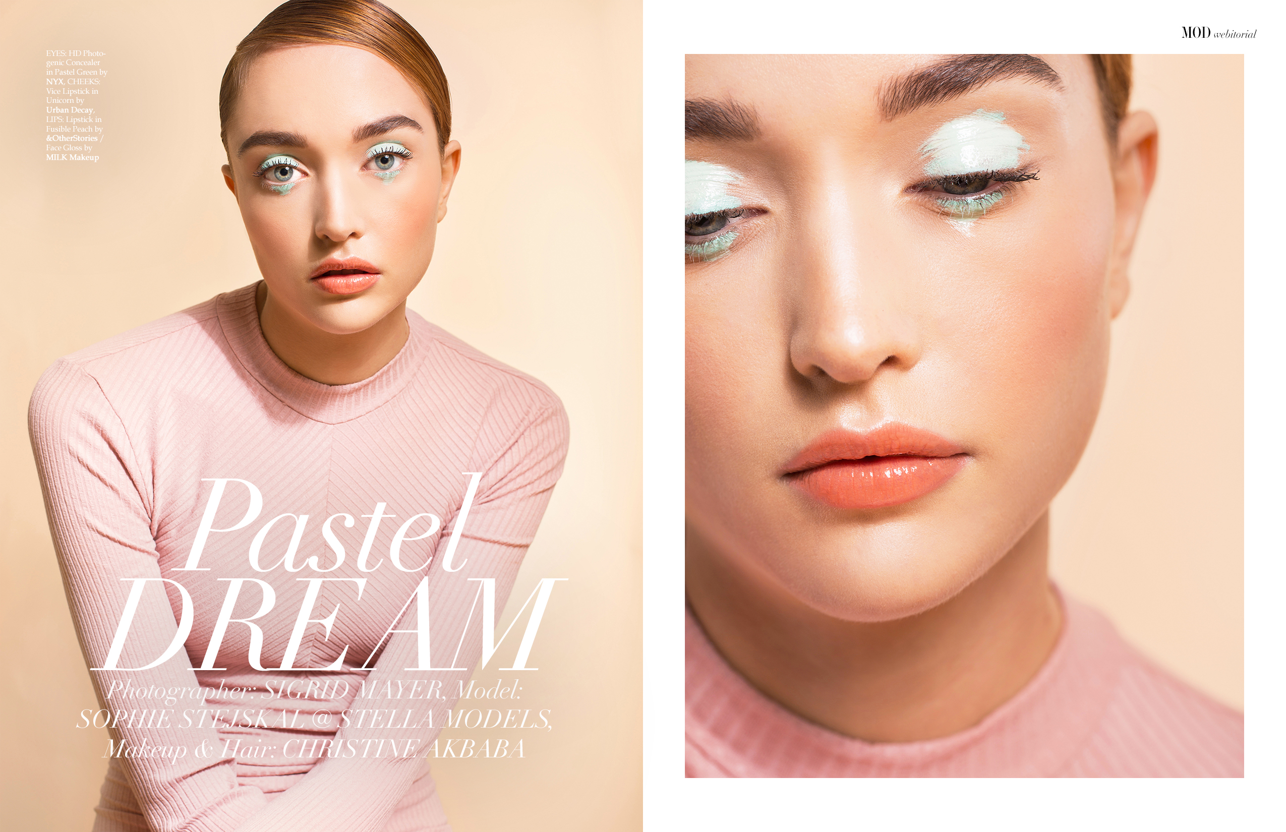 Pastel Dream by Sigrid Mayer MOD Magazine Webitorial