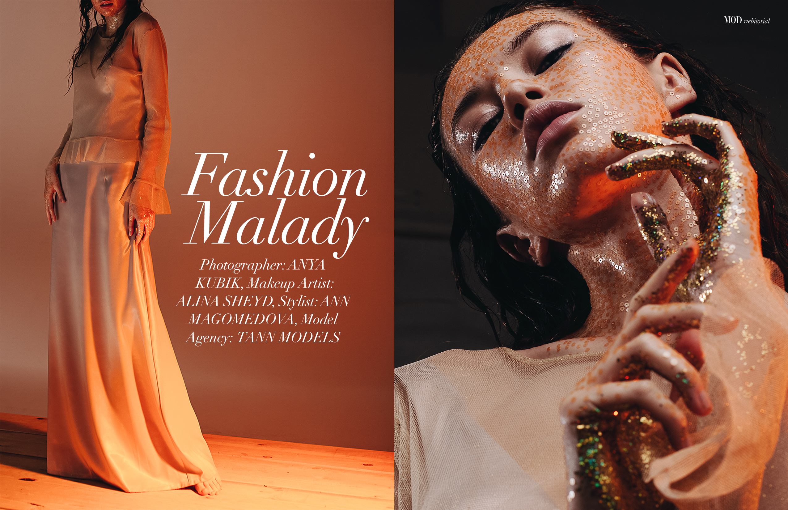 mod magazine webitorial fashion malady by anya kubik