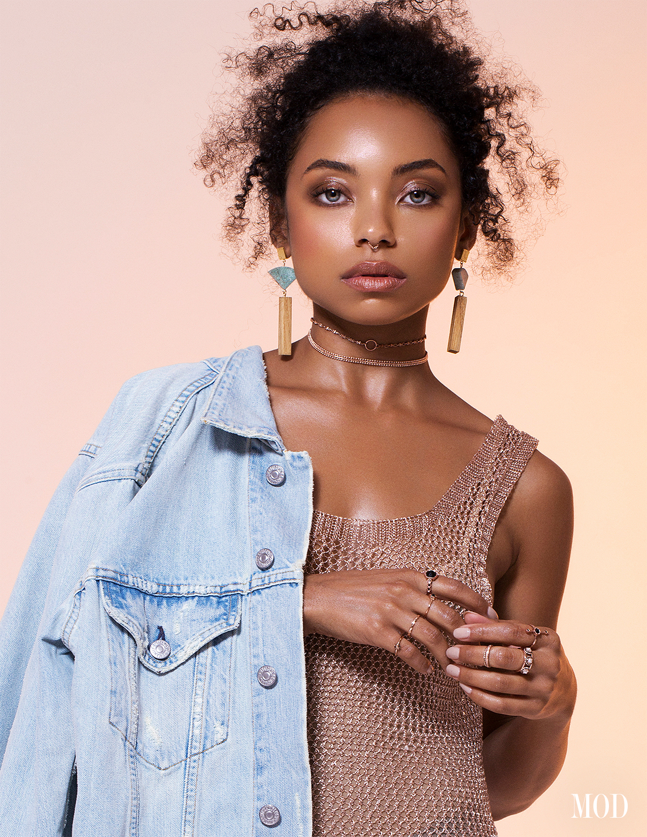 MOD Magazine Cover Logan Browning Photoshoot Brandon Lundby